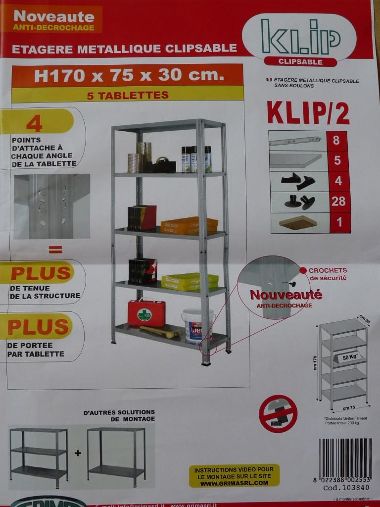Notice de montage etagère Bico Dépot