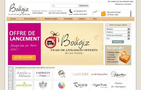 Bougiz, le e-shop des bougies parfumées